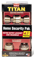 Kwikset door lockset packaging